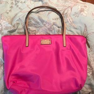 Hot pink Kate spade bag